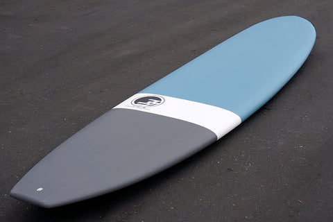 "8'6"" Ultimate Longboard Surfboard Blue Dip (Epoxy)"