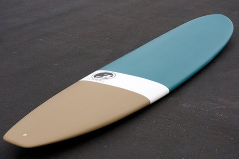 8' Ultimate Longboard Surfboard Teal Dip (Epoxy)