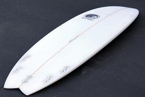 "6'10"" Easy Rider Fish Surfboard (Poly)"