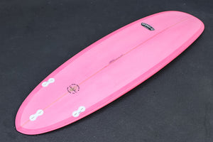 "6'6"" Poacher with Script Logo Pink Resin Tint (Poly)"