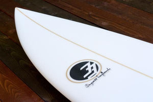 "6'4"" Jack Shortboard Surfboard (Poly)"