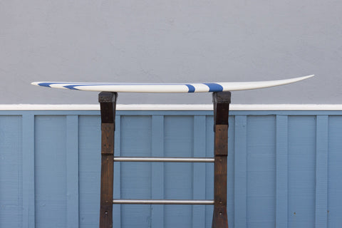 6'8 Jack Blue Epoxy Hybrid Rocker