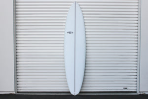 "7'6"" Over Easy Surfboard Darkwood Stringer (Poly)"