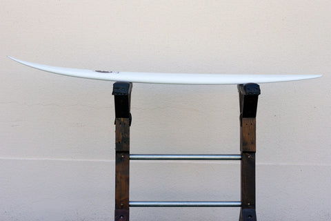 "6'10"" Shortboard ""Optimist"" Pryme Step-Up Fiberglass Rocker"