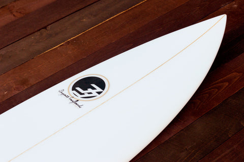 "5'10"" Shortboard ""Optimist"" Fiberglass Nose"