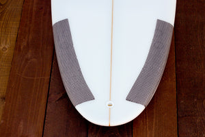 "5'8"" Shortboard ""Optimist"" Fiberglass Tail"