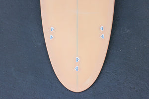 "7'2"" Poacher Surfboard Coral Resin Tint (Poly)"