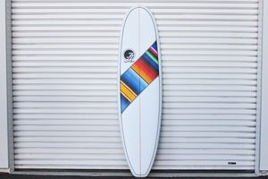 "6'10"" Poacher Surfboard Mexican Blanket (Poly)"