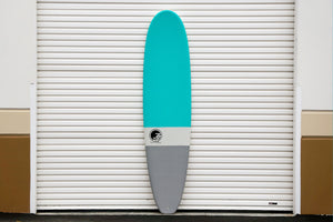 9' Ultimate Longboard Surfboard Aqua Dip (Soft Top Epoxy) Preorder