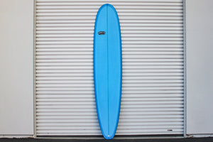 9' Ultimate Longboard Surfboard Medium Blue Resin Tint (Poly)