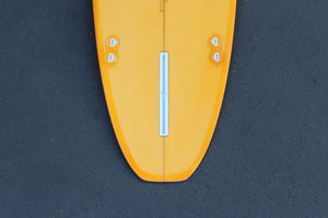 8' Ultimate Longboard Surfboard with Coral Resin Tint (Poly)