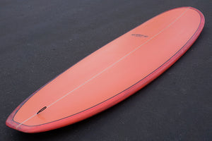 8' Ultimate Longboard Surfboard Coral Acid Splash Series (Poly)