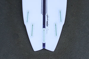 "6'8"" Weapon Shortboard Surfboard with Carbon (NexGen Epoxy)"