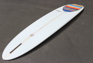 "9'2"" Wedge Noserider Mexican Blanket Longboard Surfboard (Poly)"