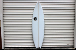 "6'4"" Weapon Shortboard Surfboard (Poly)"