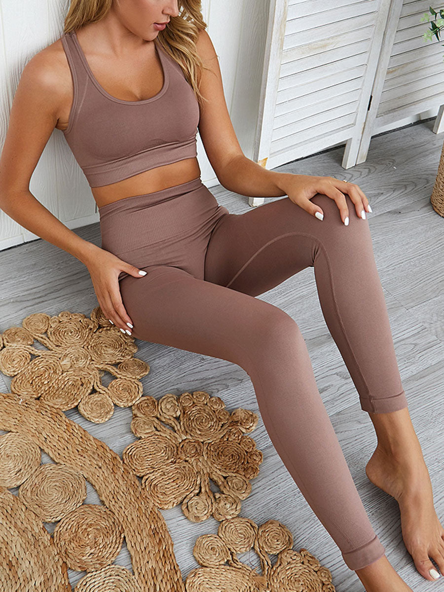 Short Sleeve Seamless Set
