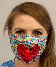 Load image into Gallery viewer, The Light'n Comfy Mask - Grateful Heart