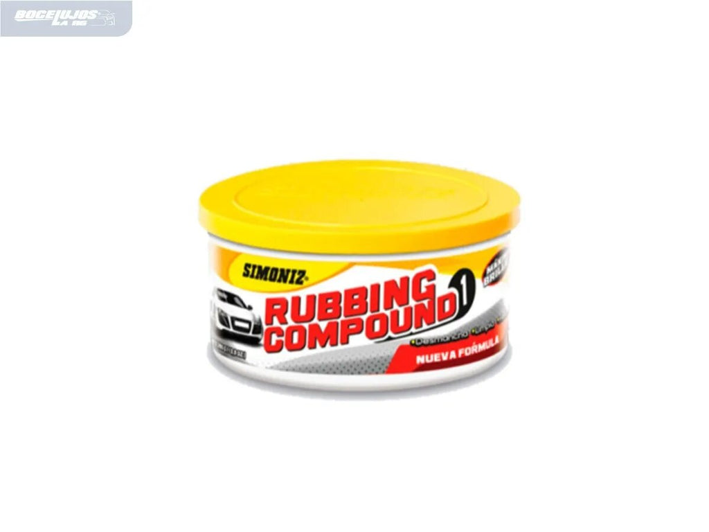 Rubbing Compound Crema Para Carro
