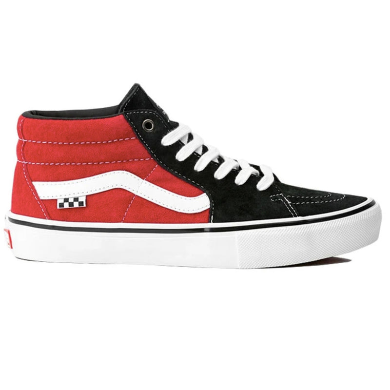 Vans Skate Mid Grosso Black/Red