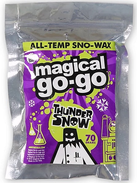Magical Go-Go Thunder Snow All-Temp Sno-wax