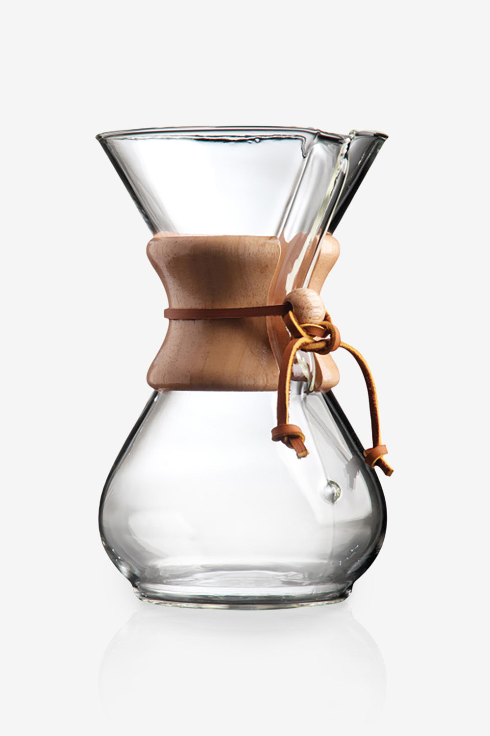 image of Chemex Pour Over Glass Coffee Maker
