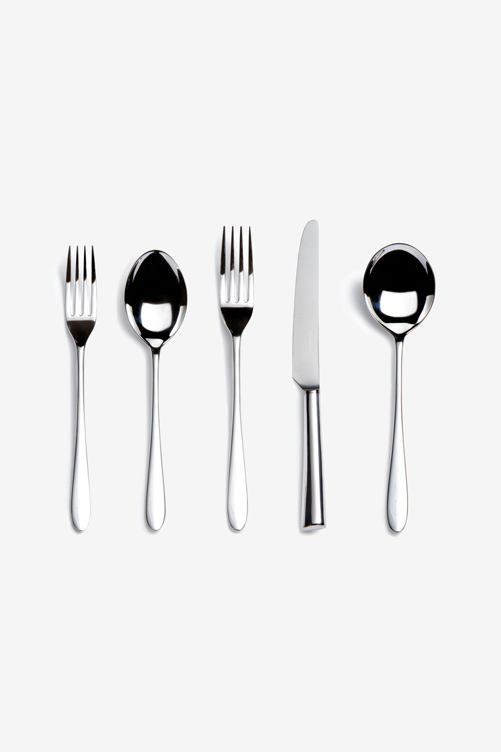 Alabama Chanin David Mellor Pride 5-Piece Stainless Steel Set Flatware