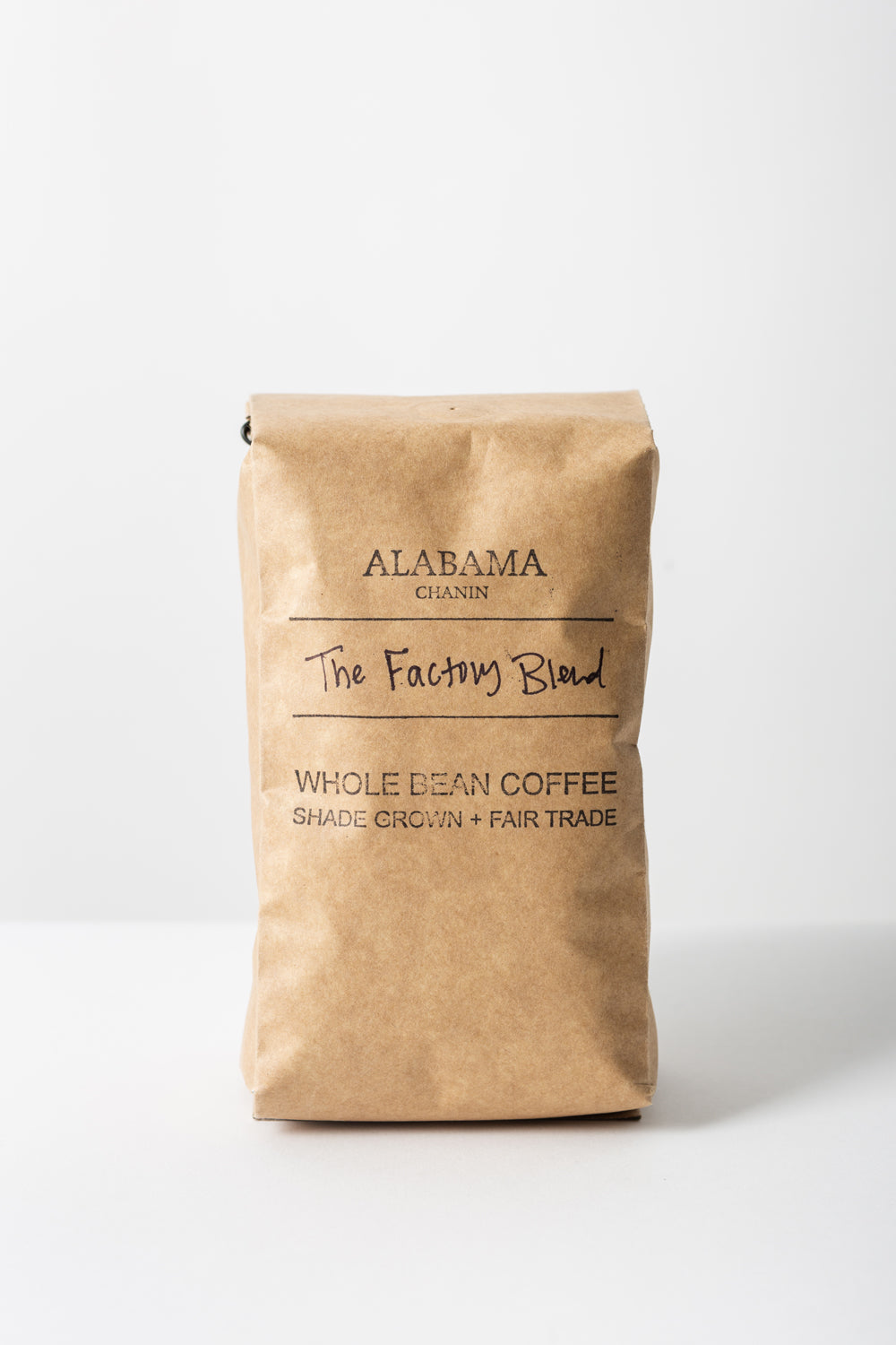 Alabama Chanin The Factory Blend Coffee Shade Grown and Fair Trade Coffee in Bag