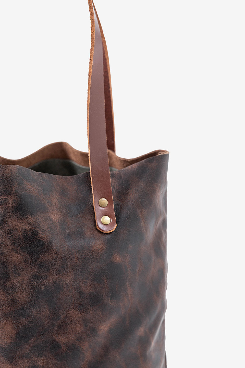Alabama Chanin Hawks and Doves USA Made Leather Bag with Straps