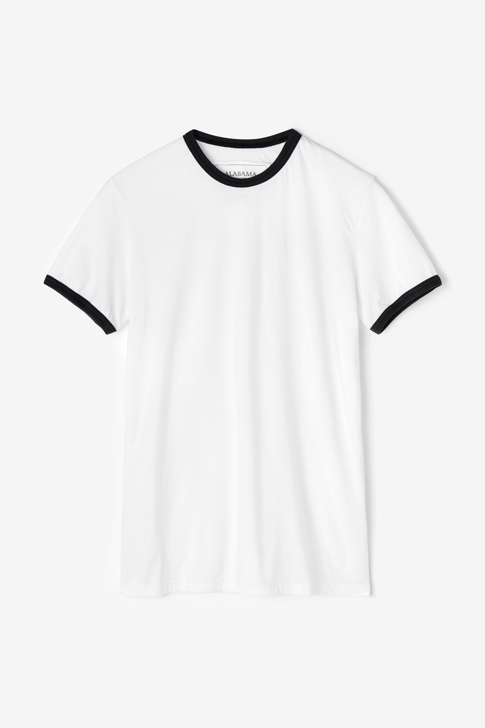 Alabama Chanin The Love Tee Unisex Organic Cotton T-Shirt with Contrast Ringer