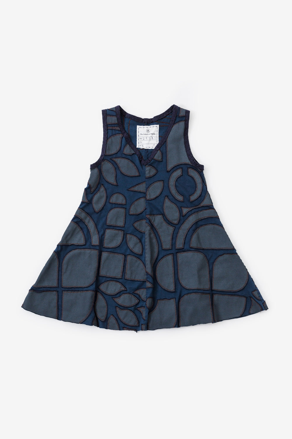The School of Making A-Line Top and Tunic Kit Sleeveless in Blue