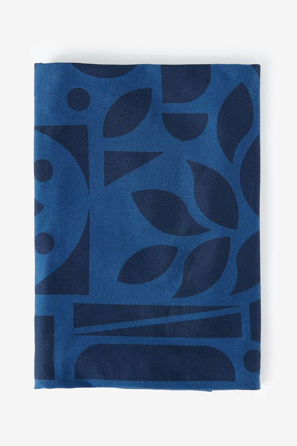 The School of Making Abstract Bundle 100% Organic Cotton Fabric and Pattern in Blue