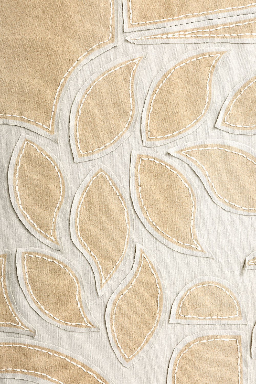 The School of Making Abstract Design Stencil for Embroidery DIY Kits