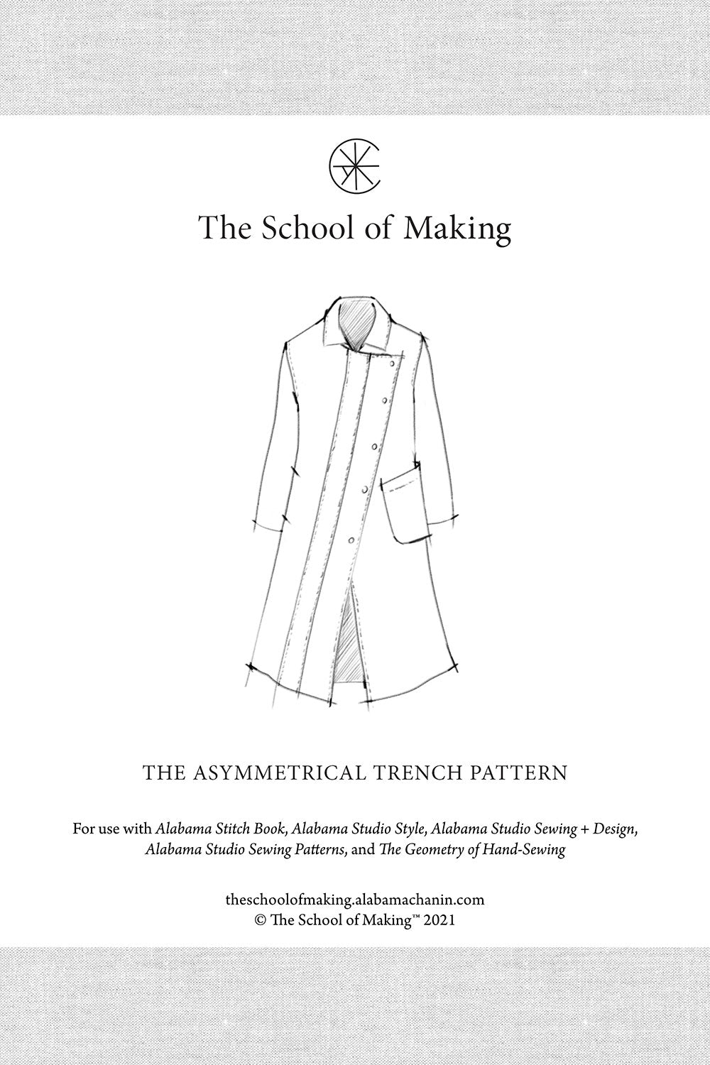 The School of Making The Asymmetrical Trench Pattern for DIY Maker Projects
