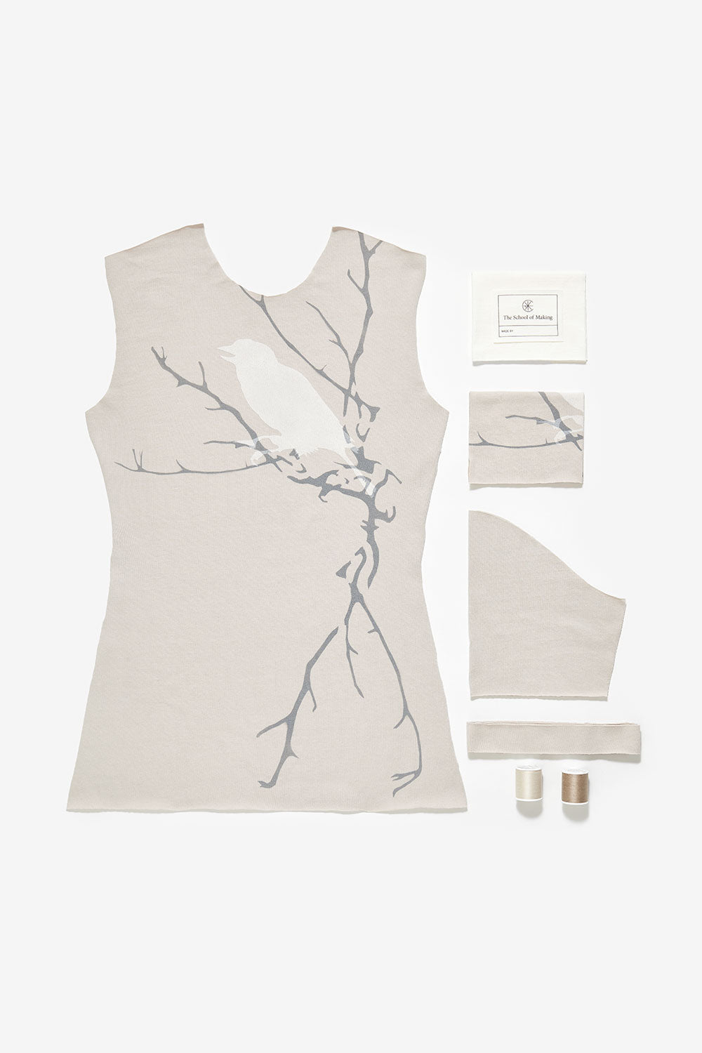 The School of Making 100% Organic Cotton Hand-Sewn DIY Top for Women