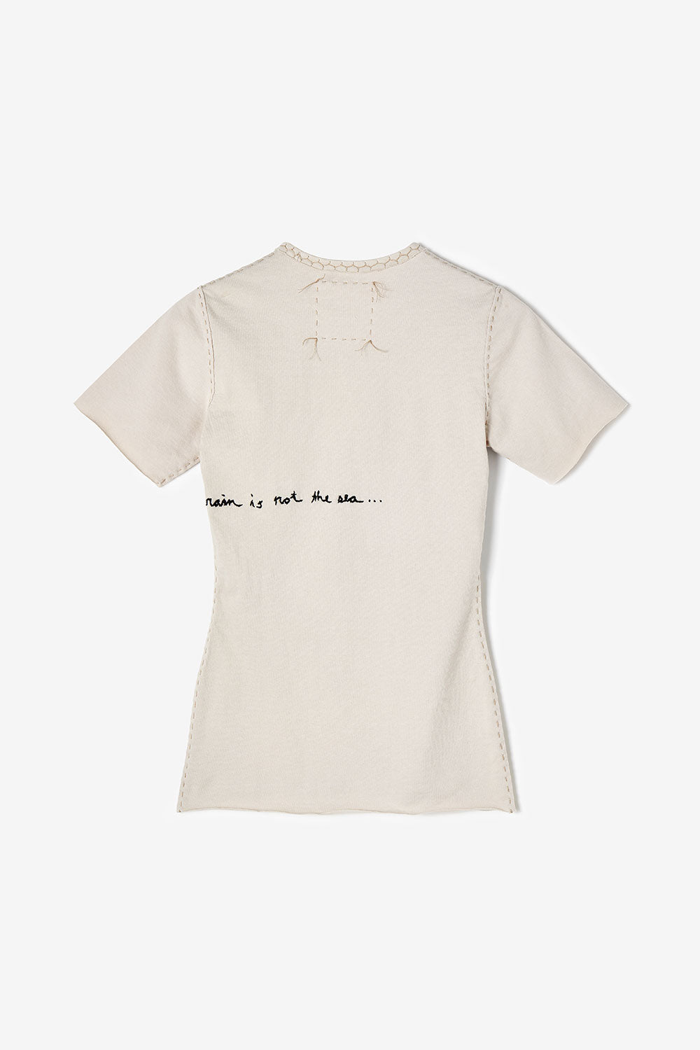 The School of Making 100% Organic Cotton Hand-Sewn DIY Top with Embroidery