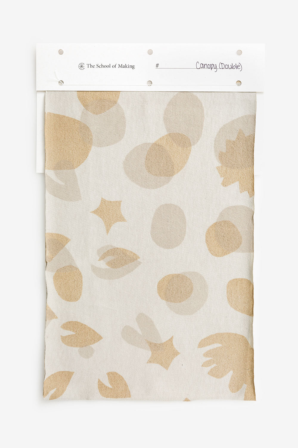 The School of Making Mylar Canopy Stencil for Hand Sewn Embroidery DIY Kits