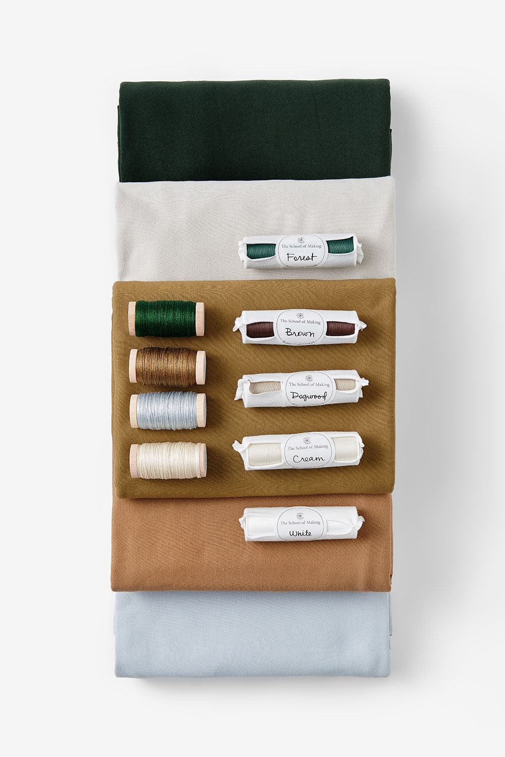 The School of Making Color Palette Bundle Design Stack for DIY Sewing Projects