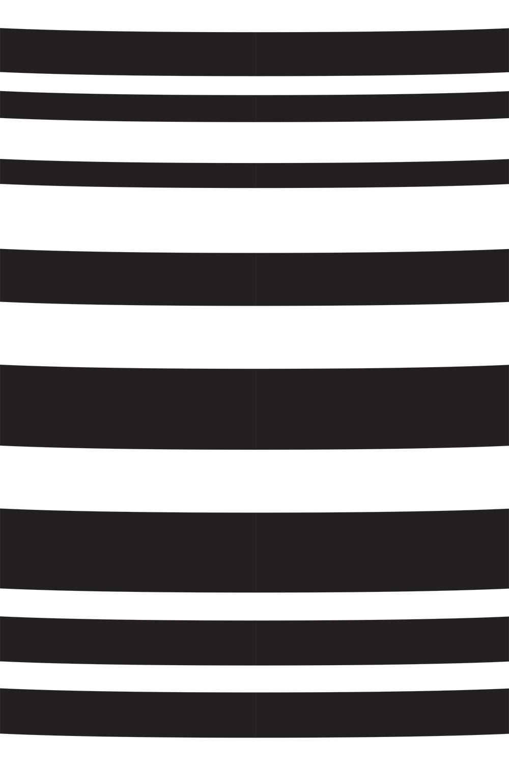 The School of Making Curved Variegated Stripe Stencil Striped Stencil Design for Hand-Painted DIY Sewing Projects