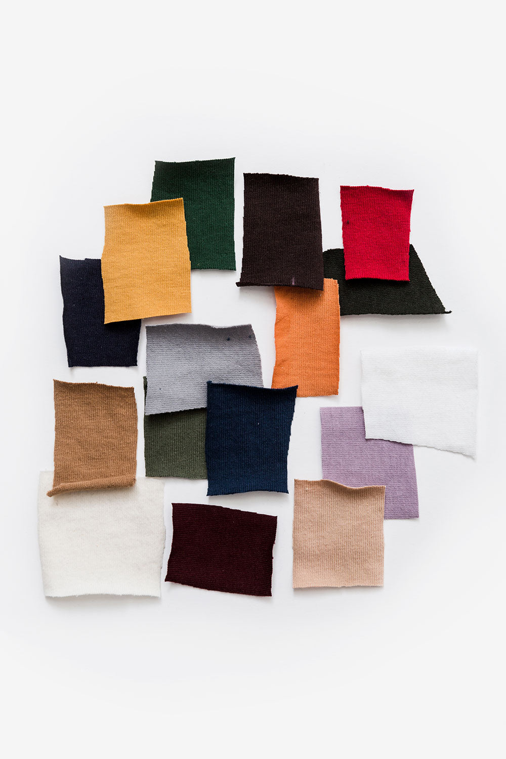 The School of Making Fabric Scrap Bundles Assorted Color Cotton Jersey Fabric Bundles