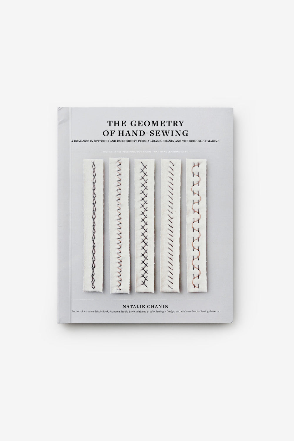 The School of Making The Geometry of Hand-Sewing Book Cover by Natalie Chanin