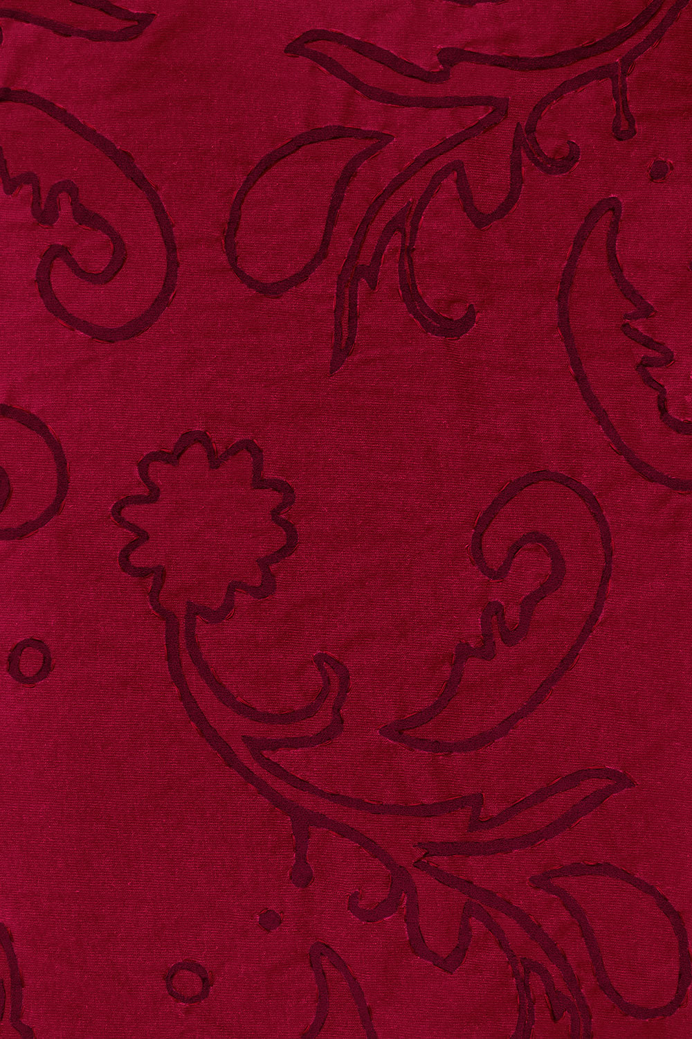 The School of Making Mylar Paisley Stencil for DIY Embroidery Kits