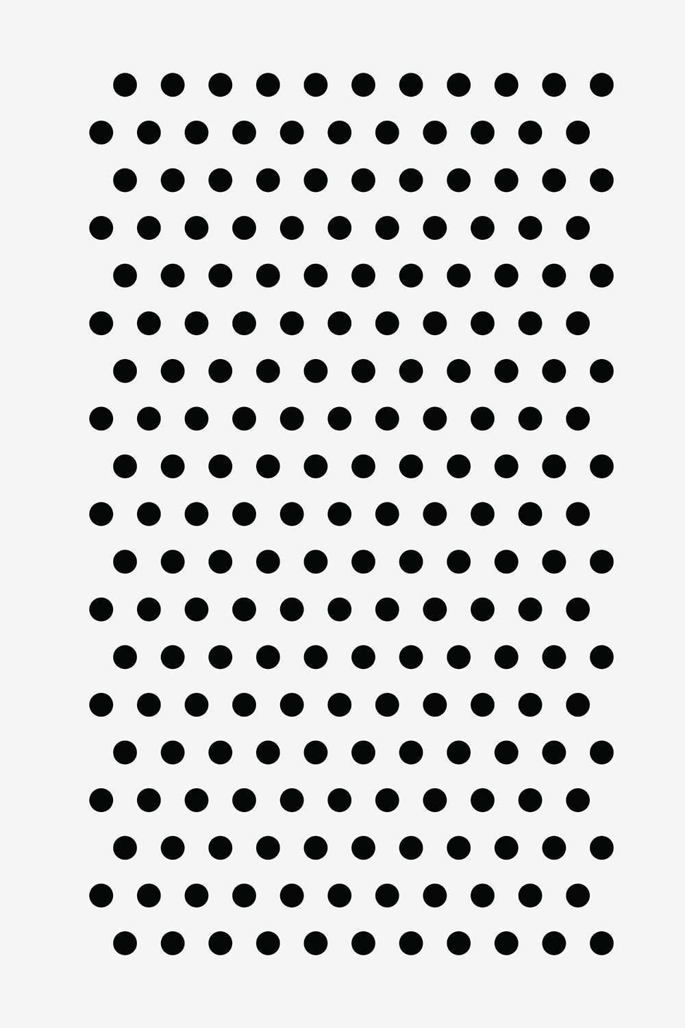 The School of Making Small Polka Dot Stencil for DIY Embroidered Projects