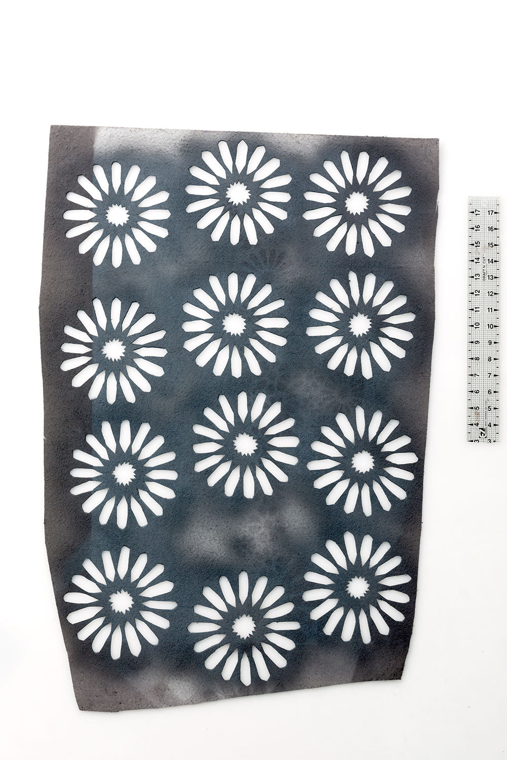 The School of Making Measuring Tools 18 Inch Transparent Ruler for Sewing Projects