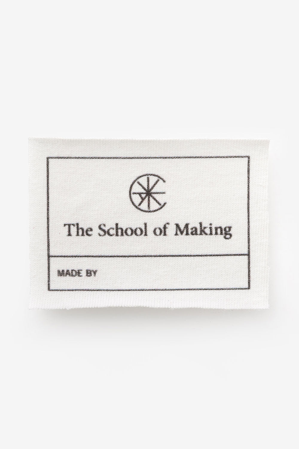 The School of Making The A-Line Dress Bundle 100% Organic Cotton Fabric Clothing Label for Sewing Supplies and DIY Projects