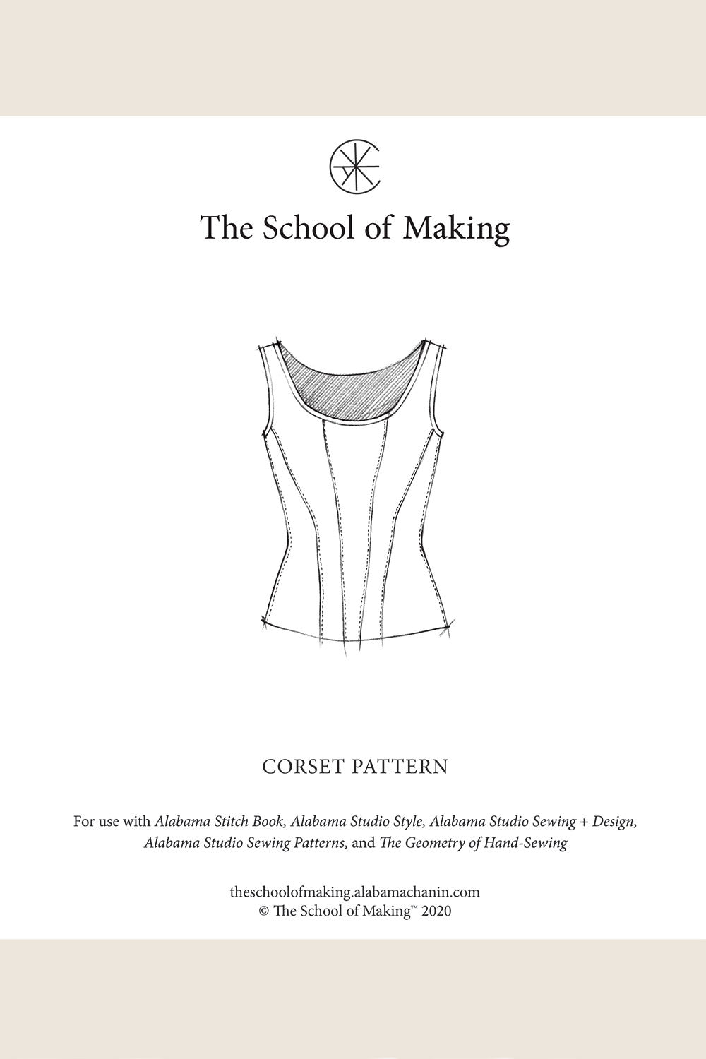 The School of Making The Abstract Bundle for Hand-Sewn Projects