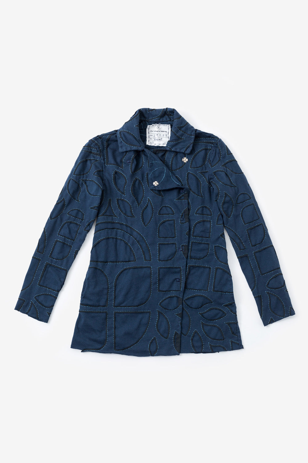 image of The Asymmetrical Peacoat Kit
