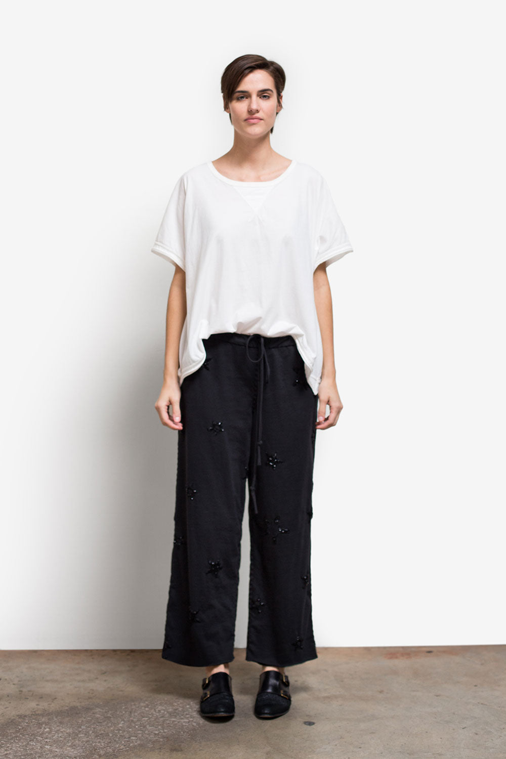 The School of Making The Drawstring Pant Pattern Hand-Sewn Pants DIY Pattern for Women