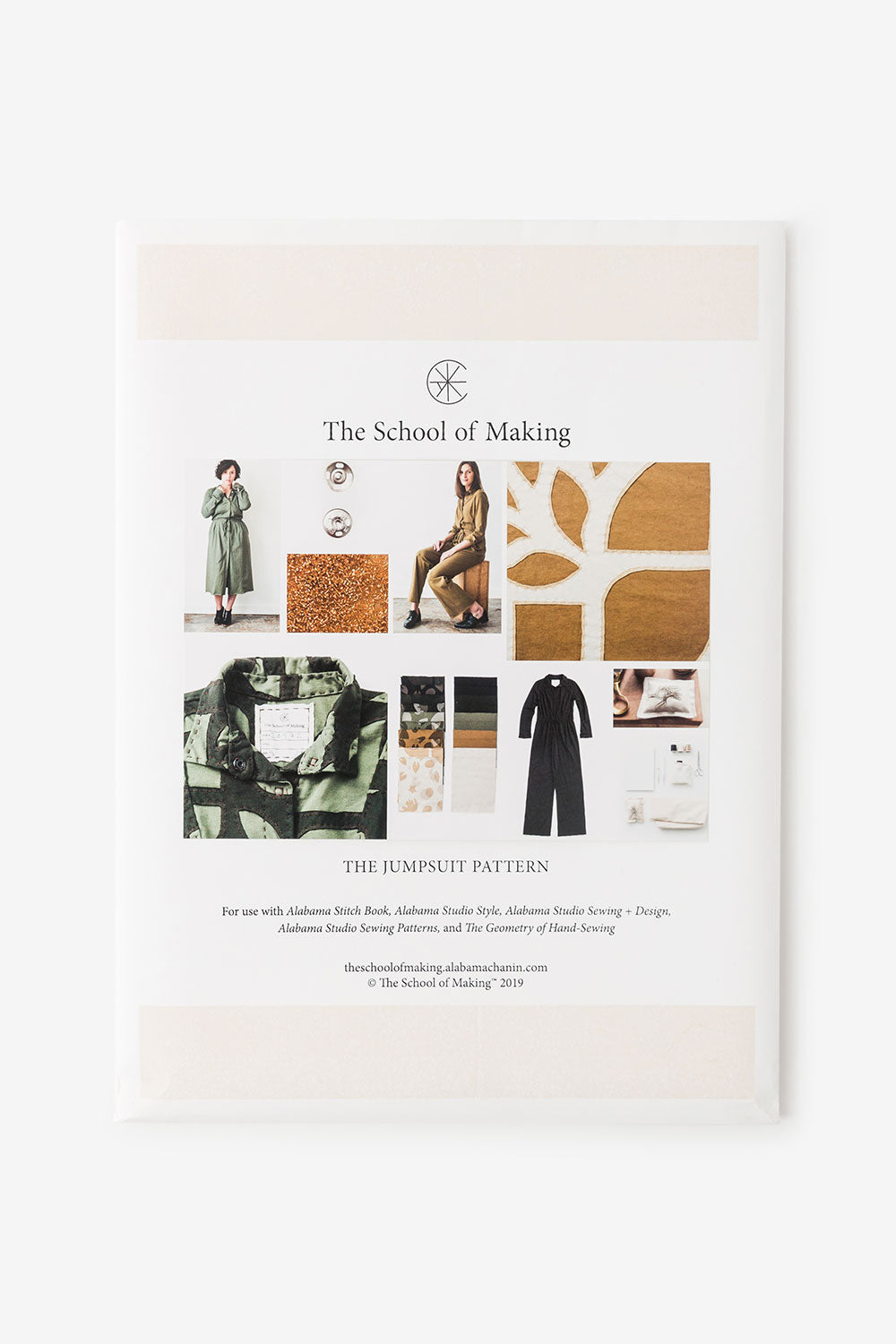 The School of Making The Jumpsuit Pattern Sewing Pattern for Women's Jumpsuit Dress and Shirt