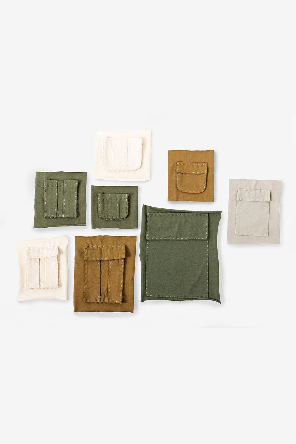 The School of Making The Pockets Pattern Women's DIY Clothing Pattern for Hand-Sewn Pockets