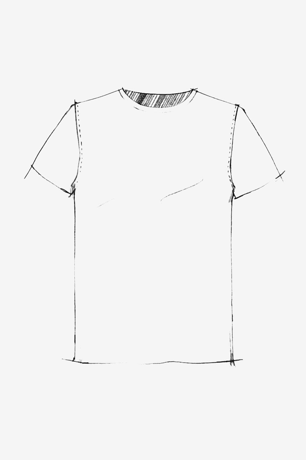 The School of Making The Unisex T-Shirt Top Pattern Unisex DIY Clothing Pattern for Hand-Sewn T-Shirt